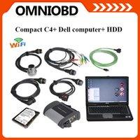 2015 MB SD compacta 4 Herramienta de diagnóstico para con Dell Laptop HDD más nuevo software SD conecta C4 con WIFI