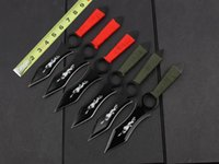 dive knife - Tactical Knives Throwing knife diving knife Tied hand knife utility knife cutting knife outdoor gear christmas gift L