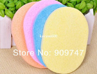 Wholesale 10pcs Magic Face Cleaning Wash Pad Puff Seaweed Cosmetic Puff Cleansing facial flutter wash face sponge makeup tools