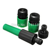 Wholesale 4pcs Garden Water Hose Pipe Tap Nozzle Connector Adapter Fitting Compatible Hozelock Repair Accessories Set order lt no track