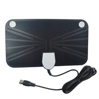 best hdtv antennas - ANT BB black miles Indoor Amplified HDTV Antenna MHz with the best price A