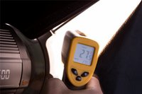 Wholesale DHL Brand New Non Contact LCD Digital IR Infrared Thermometer Temperature With Laser Gun C