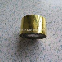 art deco wall sticker - 1roll Shinny Gold Nail Art Foil Transfer Stciker Nail Art sticker m art deco wall stickers