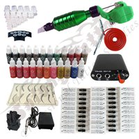 Other Material Machine makeup permanent makeup kit - New Hawk Pipe Gun Kit Permanent Makeup Pen Power Supply Needles ink TK115