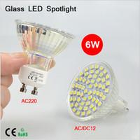 best heat lamp - BEST Selling New Heat resistant Glass GU10 AC V MR16 ACDC V W LED Spotight SMD LEDs lamp Spot light LED Bulb LM