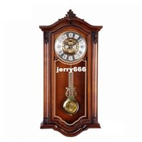 antique seiko watch - Luxury watches American retro wall clock creative clock Continental classical chime hanging table decoration Seiko movement