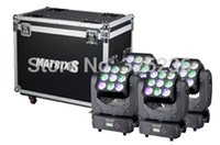auto matrix controls - Flightcase packing XLOT Matrix Led Moving Head W Led Beam Moving Head RGBW Mini Moving Head Beam Light Pixel Control