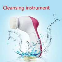 Whitening acne washes - 2015 Mini in Electric Face Washing Machine Facial Beauty Massager Skin Massage Cleaner MAS_218