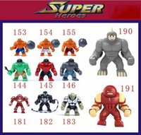 venom - 11pcs set Decool Super Heroes Big Hulk Thing Venom Hulk Buster Green Goblin Lazy Rhino juggernaut Building Brick Blocks