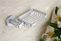 Wholesale 2016 hot sale strip never rust creative aluminum soap holder Rectangle wall mouted bathroom soap dishes