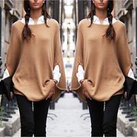 Cheap 2015 New Women Casual Oversized Knit Sleeve Sweater Coat Polyamide Cardigan Jacket