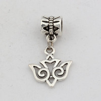 antique tribal jewelry - Hot Antique Silver Alloy TRIBAL STYLE SWALLOW BIRD Charms Dangle Bead Fit Charm Bracelet X27MM DIY Jewelry