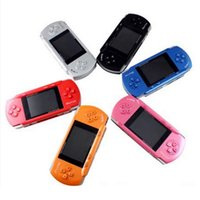 Wholesale 2 Inch PVP Crash Handheld Game Console With Free Game Card and Joystick BIT Seven Colors G01