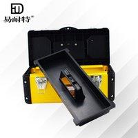 Wholesale Easy Iron Knight plastic toolbox versatile multi standard plastic storage box plastic toolbox iron craft