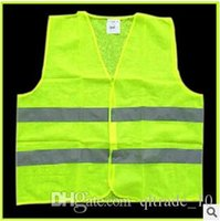safety clothing - High Visibility Working Safety Construction Vest Warning Reflective traffic working Vest Green Reflective Safety Clothing LJJC1792