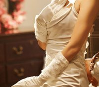 Wholesale Wedding Gloves Bridal Gloves ivory fashion lace wedding bridal gloves