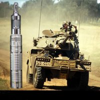 Cheap Wholesale-Hot Panzer mech Mod Kit Full Mechanical Mod Ecig Panzer mech Mod Clone Kit come with V2 atomizer & meniscus shape case