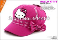 baseball cap flex fit - hello kitty children fashion girls flex fit baseball hat flexfit kids snapback cap child toddler summer sun hat christmas gift