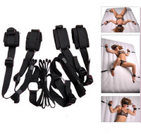 Cheap Sex Swing Sex Toy Underbed Restraint System Bondage Strap Fetish Kit Love Hand Ankle Frsh Sex Furniture Sex Product For Couple