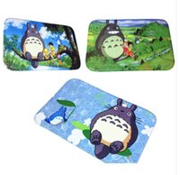 Wholesale 38cm cm Japan Anime My Neighborhood Totoro Carpet cm Area Rug Shaggy Rugs Cute Anime Door Mat House Decorations Styles