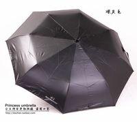 Wholesale summer brand luxury waterproof and windproof uv umbrella for women fold automatic Zero transmission sunshade female umbrella