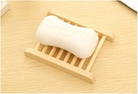 Wholesale Wooden Soap Dishes Bathroom Soap Tray Soap Holder Soapbox