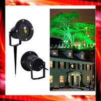 Wholesale Cheap FedEx Free Xmas Waterproof Garden Sky star firefly stage laser lighting for outdoor christmas light projector