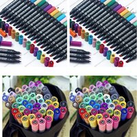 Wholesale 2015 Newest STA TOUCH FOUR Marker Pens Set of colors standard with Birthday Christmas gifts mix colorful