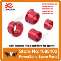 Wholesale CR R CRF R X R X Billet Aluminum Front amp Rear Wheel Hub Spacers Fit CRF Motorcross Dirt