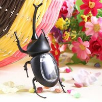 Wholesale New Solar Power Energy Toys Solar Beetle Black Children Bug Educational Fun Toy Gift For Kids