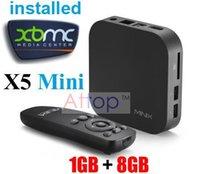 Cheap MINIX NEO X5 Mini Smart TV Box Dual Core Cortex A9 1GB 8GB WIFI HDMI 1080P Android 4.2 Miracast Airplay Kodi 14.0 Helix 10pcs Free Shipping