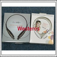 For Apple iPhone best neckband headphones - BEST HBS Sport Neckband Headset In ear Wireless Headphones Bluetooth Stereo Earphones Earphone Headsets For iphone Samsung Free DHL