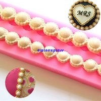 bead cutter - Beads shape Silicone Fondant Sugarcraft Cake Moulds molds Cutter chocolate molds Cake Decorating tools christmas Party Supplies
