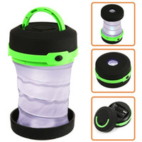 Wholesale Black Scalable Mini Tent Light Outdoor Folding LED Camping Lantern