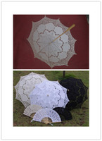 Wholesale Wedding Decoration Hand Fan Wedding Decoration Hot Wedding Lace and Cut Out Hand Fan Fashion Beautiful and More Color Umbrella