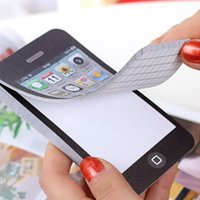 Wholesale New Creative Fashion Mobile Phones Scratch Pads Memo Pads Sticky Note Pads Notes Cute Pages cm Paper Notepad jk3110