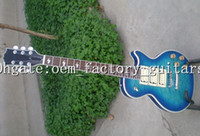 ace factories - OEM Factory best quality new Free shiping Ace Frehley series electric guitar china made guitars blue color Face
