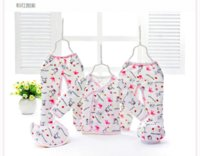 Wholesale new cotton new baby clothing sets set pinafore Pants a hatclothes for newborn