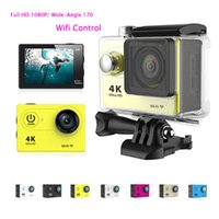 Wholesale H9 Ultra K Video degrees Wide Angle Sports Action Camera inch HD p Waterproof m Wifi HDMI Up to GB
