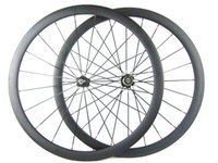 bicycle campagnolo - 38mm Full Carbon Road Bicycles Wheelset C Carbon Fiber Bike Wheel for Shimano or Campagnolo Speed Front Rear Wheel mm Width