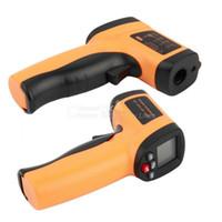 Wholesale GM550E Non contact Digital Infrared Thermometer Laser Temperature Gun degree