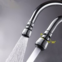 Wholesale Swivel Rotate Water Saving Faucet Mixers Taps Aerator Nozzle Filter Bathroom Kitchen Faucets Accessories