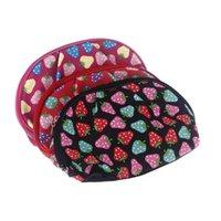Wholesale 2014 Women s Make Up Pouch Case Fashion Strawberry Pattern Cosmetic Bag Make Up Storage Organizer