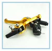 asv clutch - ASV model Golden alloy Poignee d embrayage lever mm for motorcross pit bikes mm mm handle tube available