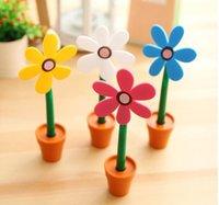 Wholesale creative sunflower ball point pen