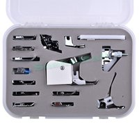 Wholesale New Arrival Domestic Sewing Machine Braiding Blind Stitch Darnign Presser Foot Feet Kit Set us6
