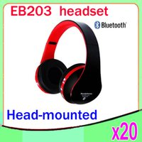 Cheap EB203 Bluetooth headphones Best mp3 player
