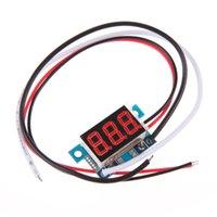 Wholesale 0 quot LED Digital DC Ammeter AMP Mini Current Panel Meter DC A