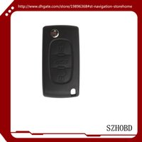 Wholesale 5pcs Remote Key Shell Button VA2 B without groove for Citroen car