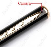 Compra Micro cámara espía oculto-La cámara ocultada cámara ocultada ocultada de la pluma DVR de la pluma DVR de 720 * 480 avi HD de la cámara ocultó la cámara de la fábrica de la cámara del espía